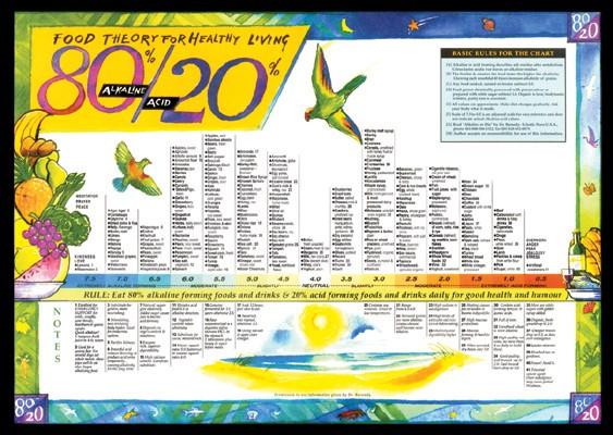 80/20 Chart